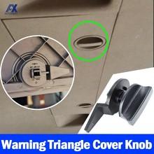 Clip de cubierta triangular de advertencia para puerta trasera de coche, soporte de compartimiento, perilla de giro, montaje de bloqueo, para VW Tiguan 5N MK1, Touran 2003 - 2015