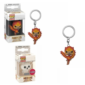 POP! Harri Potter Magic School Pets Fawkes Hedwig Model Dolls Action Figure Keychain Collection Toys for Children Bag Pendant(China)