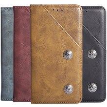 Itien tpu silicone proteção durável flip capa de couro genuíno caso do telefone para hisense f26 f28 f29 bolsa escudo carteira etui pele