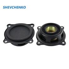 셰브첸코 2.5 인치 65.5mm 라디에이터 수동형 라디에이터 스피커 저음 고무 가장자리 낮은 범위 서브 우퍼 DIY 2pcs