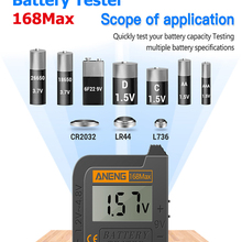 Test-Checkered Load-Analyzer Button-Cell Capacity-Tester Display Lithium-Battery Digital