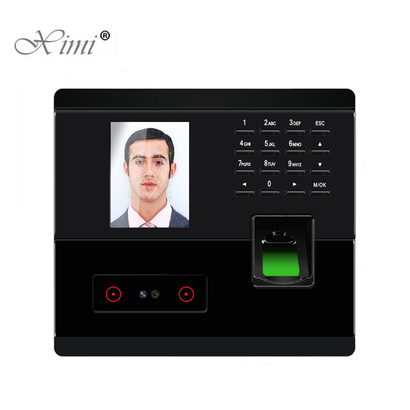 ZK UF200 Biometric Face Time Attendance System TCP/IP USB Fingerprint Time Clock Recorder Employee Recognition Recording Device