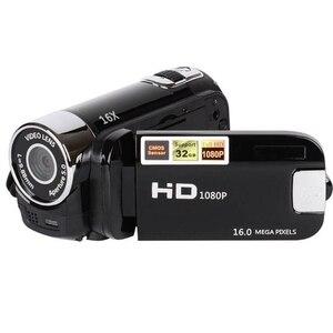 Image 3 - 2.4 Cal monitor TFT 16X Zoom cyfrowy kamera wideo DV HD 1080P ręczna cyfrowa kamera z czujnikiem Cmos do 32 GB S
