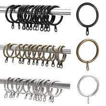 12 шт металлические крючки для штор кольца душа подвесные удобные