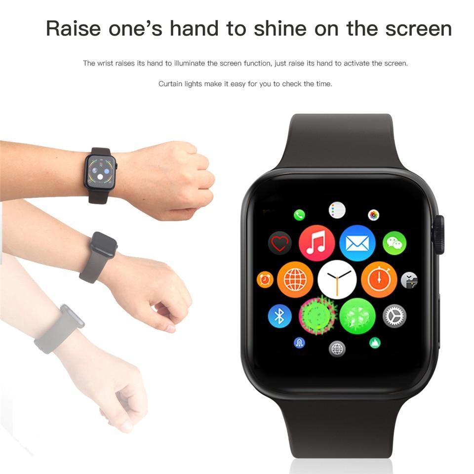 IWO 11 Смарт часы Bluetooth 1:1 серии 4 gps Inteligente Pulseira SmartWatch Android для IOS Upgrade IWO 10 9 8 7 6 5 - 5