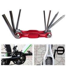 Ferramentas de ciclismo repaire peso leve 7 em 1 mountain bike ciclismo multi ferramentas reparo do carro da bicicleta ferramentas