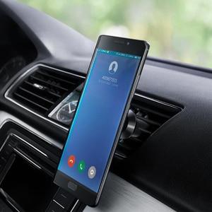 Image 4 - Guildford רכב מחזיק טלפון מיני לשקע אוויר רכב הר מגנטי אוויר Vent הר Stand עבור IPhone Xs סמסונג