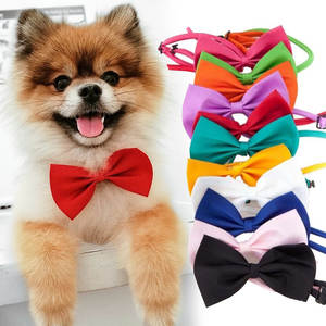 Necklace Bow-Ties Pet-Supplies Dogs-Accessories Puppy Cat-Collar Adjustable-Strap Pet-Dog