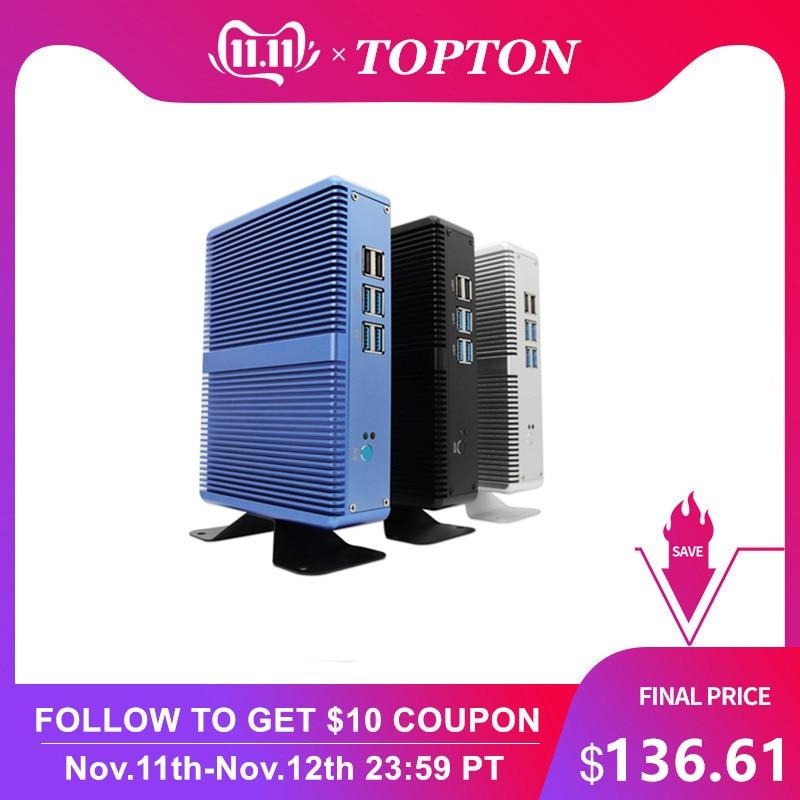 Cheap Fanless DDR4 Mini PC I7 I5 7200U I3 7100U Win10 Pro Barebone PC Nuc Mini Desktop Computer Linux HTPC VGA HDMI WiFi