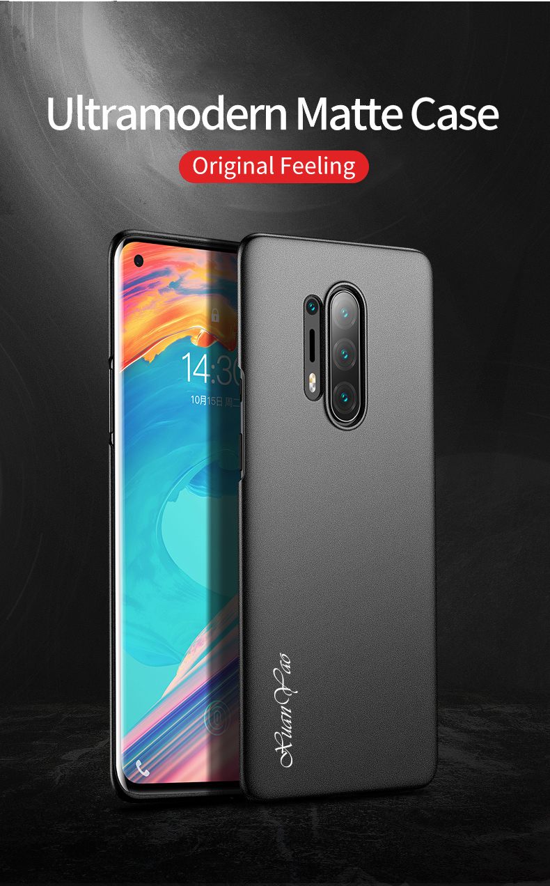 XUANYAO Luxury Cover For OnePlus 8 Pro Case Matte Slim Cover For OnePlus 8 Case Frosted Hard Back Cover One Plus 8 Pro 1+8 Pro (1)