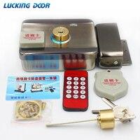 Sistema de Control de Acceso de cerradura de puerta de cerradura eléctrica integrado RFID lector de ID de llanta de puerta 125khz acceso bidireccional