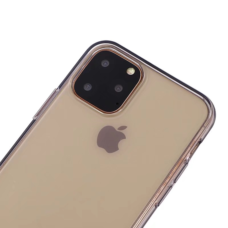 Comanke Transparent Candy Color Silicone Cases for iPhone 11/11 Pro/11 Pro Max 48