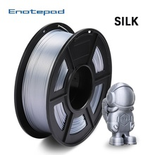 Enotepad Silk Filament 1 75mm 1kg PLA SILK For 3D Printer Bright Color Silk PLA 3d