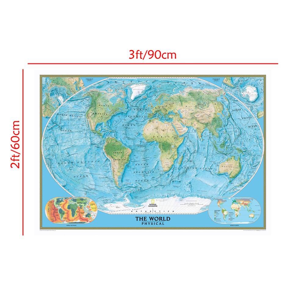 o mundo fisico mapa com tectonica mundo 01