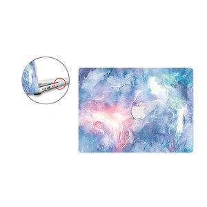 Image 4 - Hdパターンのラップトップのmacbook air proの網膜12 13 15 16 15.4 13.3インチキーボードカバー空気A1466 A1932 2018