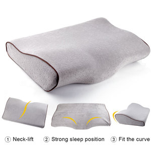 Image 3 - Eyelash Extension Special Pillow Memory Foam Grafted Eyelashes Pillow Ergonomic Cervical Rebound Relieve Neck Cervical Pressure