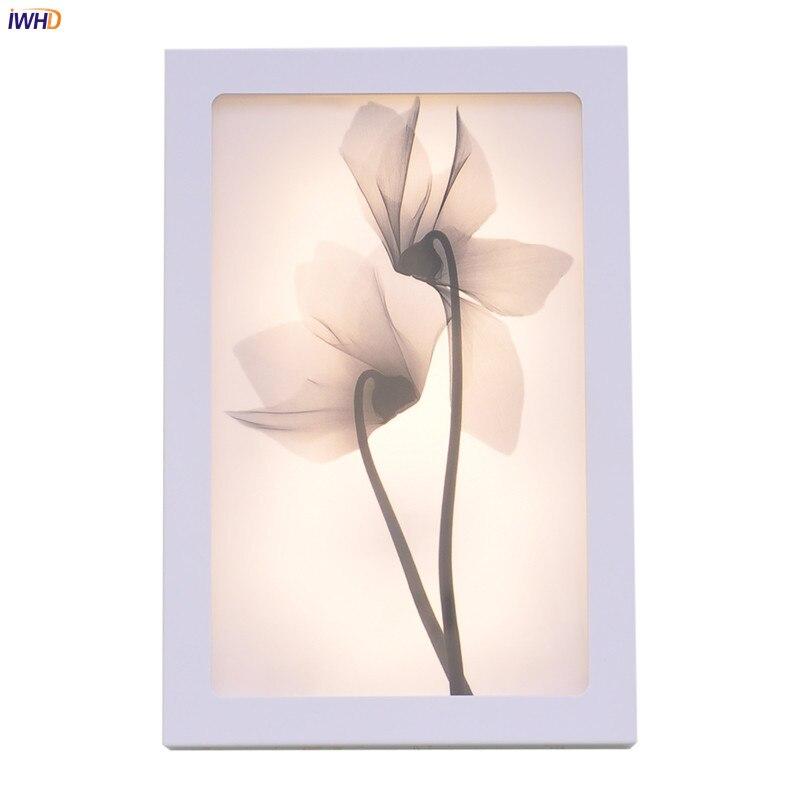 Модный художественный настенный светильник ssece12w акриловый современный цветок Wandlamp освещение для спальни приспособление лестницы апплика...