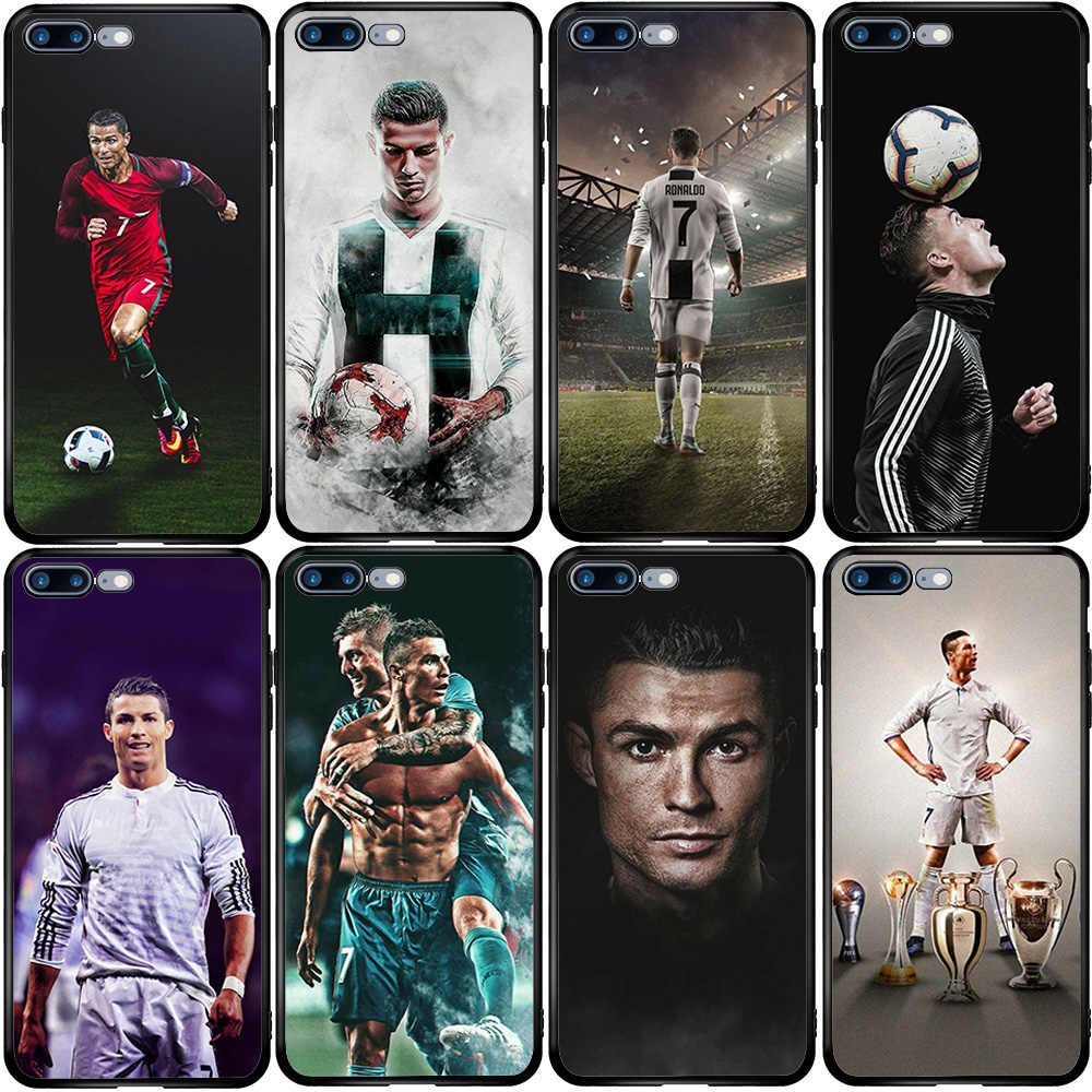 CR7 Cristiano Ronaldo pokrowiec na iPhone 5 5S SE 6 6S 7 8 Plus XR X XS 11 Pro Max Oneplus 3 5T 6T 7T