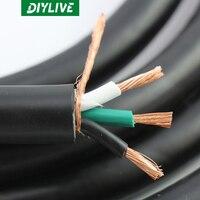 DIYLIVE 10 metri HiFi Moster Monster pure copper Powerline 400 Hi-Fi/GB cavo di alimentazione alimentato cavo amplificatore di potenza audio