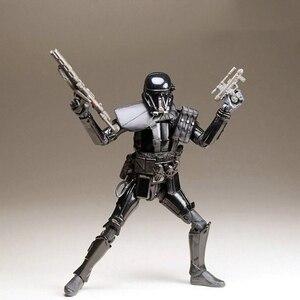 Image 3 - Disney Star Wars 15cm Darth Vader Action Figure doll Model Anime Decoration Collection Figurine mini Toy model for children gift