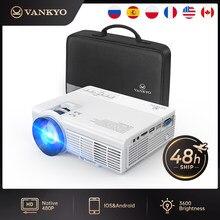 Vankyo LEISURE 3 мини-проектор 1920*1080P 170 ''дисплей портативный проектор с 40000 часов светодиодный светильник Life TV Stick PS4 HDMI PK Q5