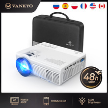 VANKYO Leisure C3MQ Mini Projector Supported 1920*1080P 170'' Portable Projector For Home With 40000 Hrs LED Lamp Life TV Stick