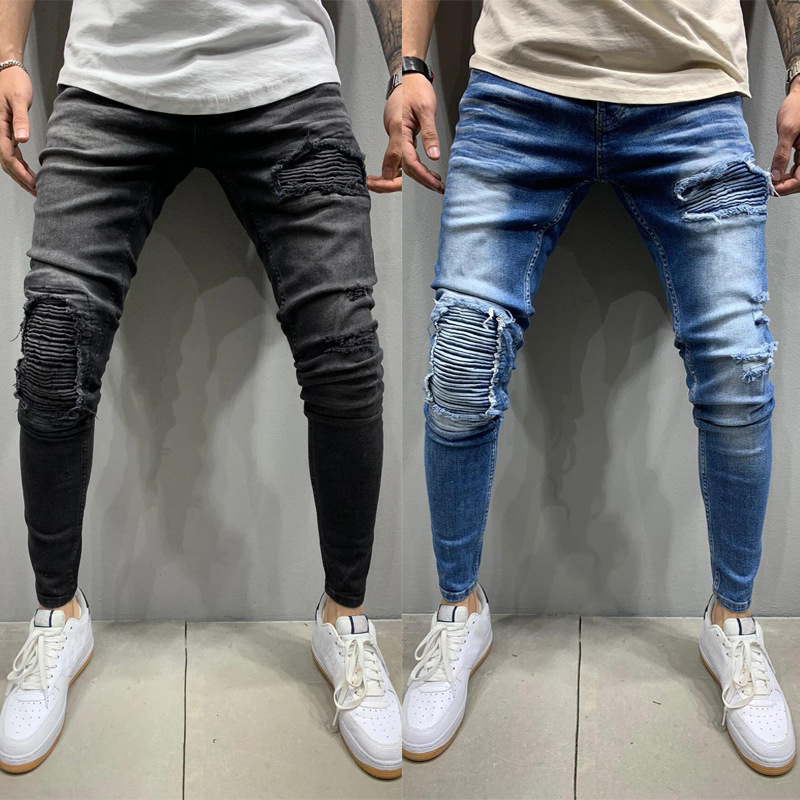 Best Price High Quality Pantalon Homme Slim Skinny Near Me And Get Free Shipping A770