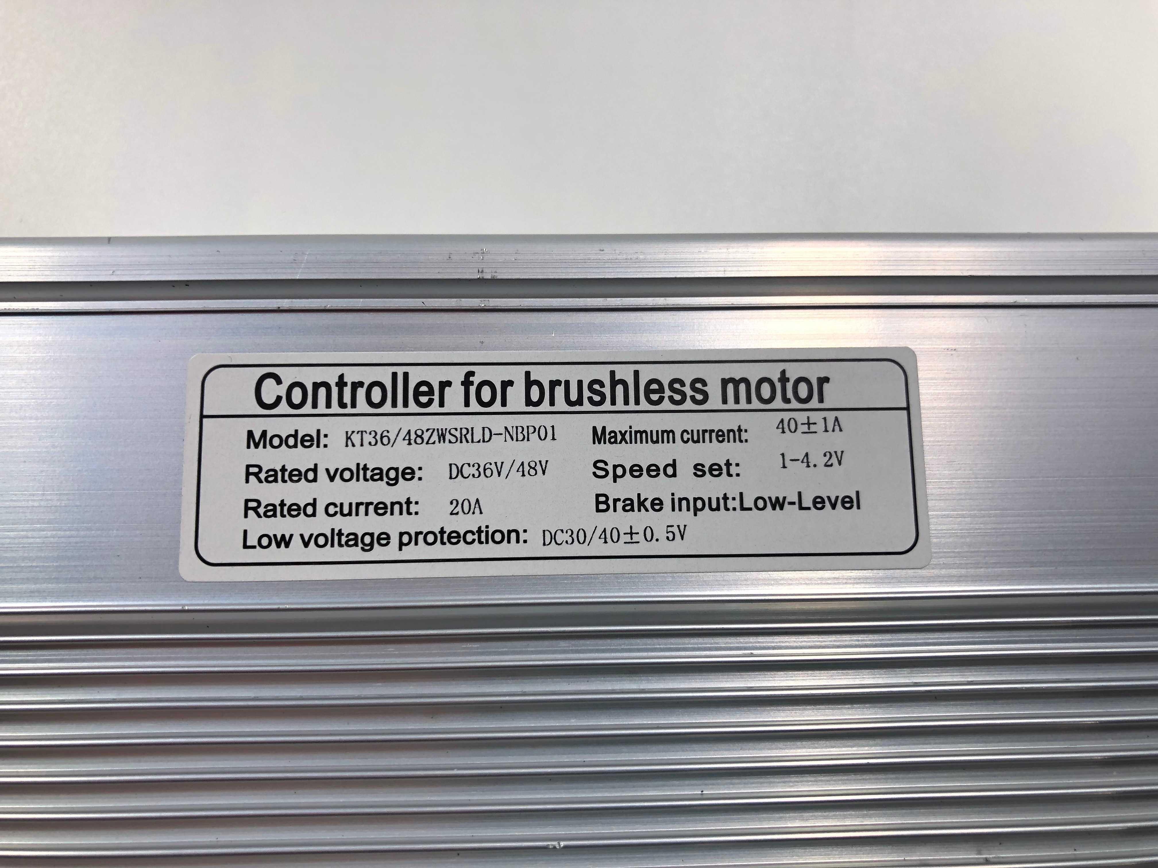 1500w 36v/48v 40a sem escova dc ebike controlador + KT-LCD8H lcd3 led900 cor display um conjunto, para 1500w-2000w ebike kit