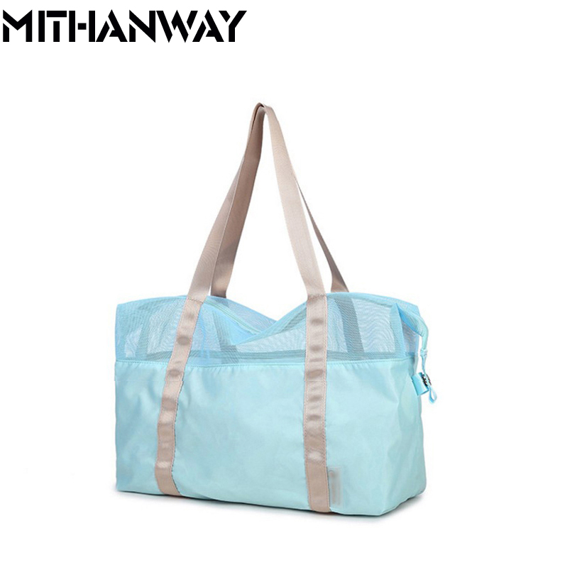 Women Outdoor Multifunctional Sport Swimming Beach Storage Shoulder Bag High Quality 2017