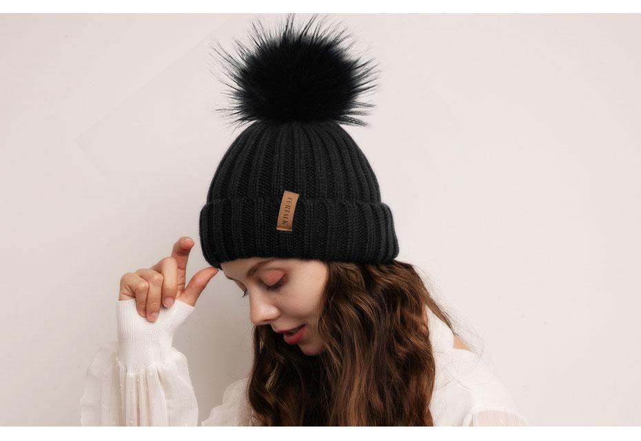 单层真球普通毛线帽930e_10