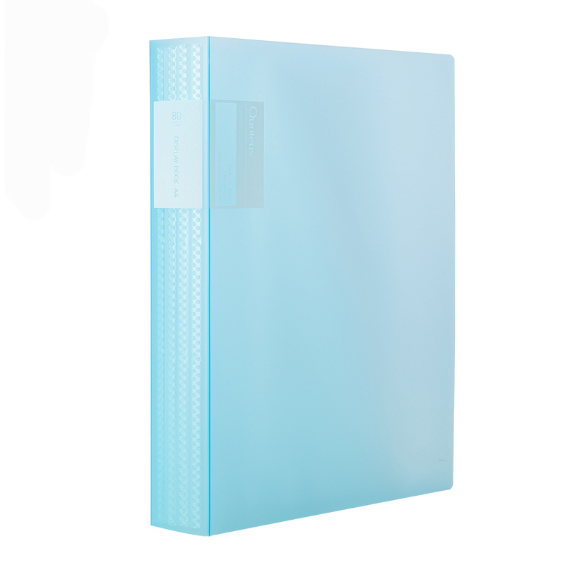 Deli 72458Series Information Booklet A4 Multi-layer Insert Folders Folders Papers Stationery Student Office Transparent Bag