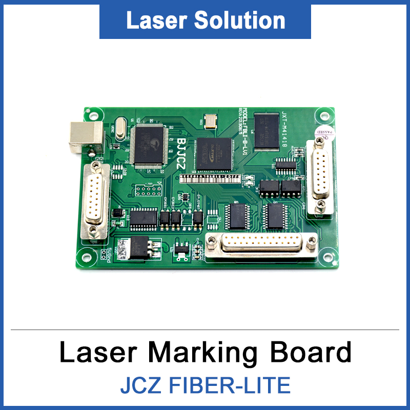 BJJCZ-FIBER-LITE Laser Marking Machine Controller Original Card Ezcard For Fiber Marking Machine IPG Raycus MAX