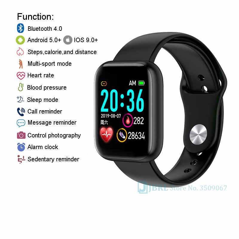 새로운 똑똑한 시계 여자 남자 Smartwatch 전자 공학 안드로이드를위한 똑똑한 시계 IOS 적당 추적자 최고 유행 Bluetooth 똑똑한 시계