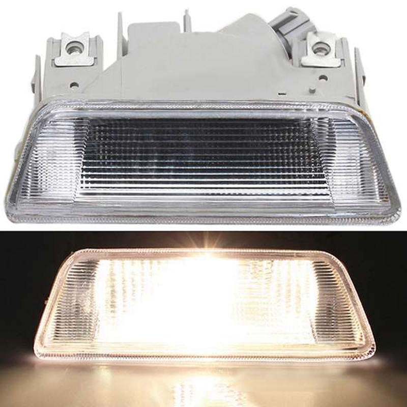 Car Rear Tail Bumper Reflector White Clear Fog Lamp Light for Nissan X-Trail 08-13 Red