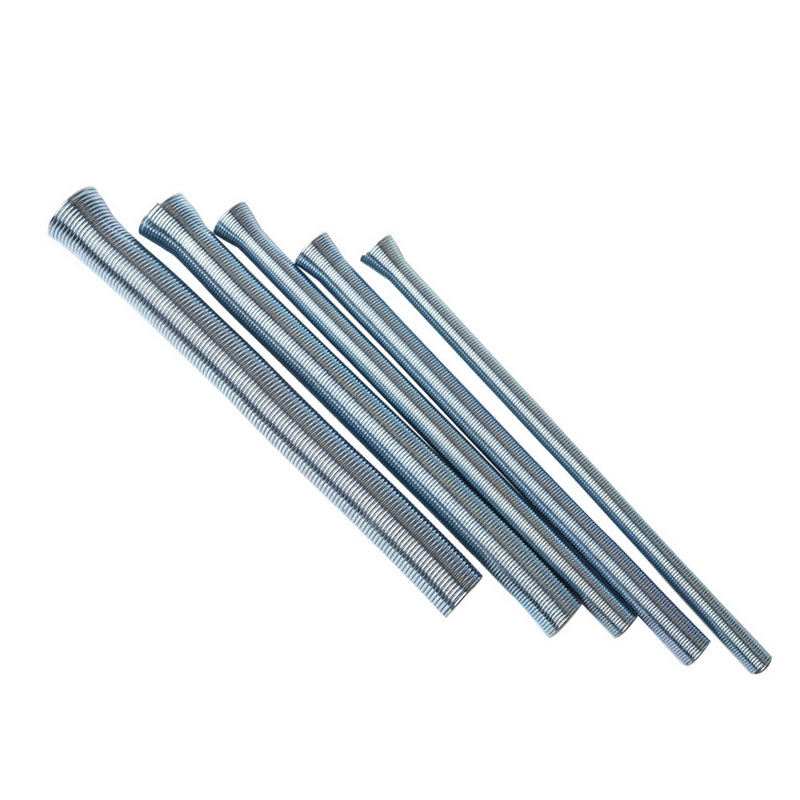 5Pcs Spring Tube Benders For Copper Aluminum Thin Wall Steel Tubing Bending Hand Tool 1/4'' 5/16'', 3/8'', 1/2''and 5/8'' image