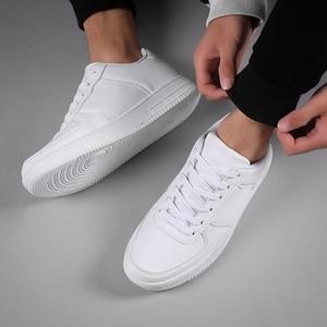 Image 4 - Venda quente branco tênis masculinos 2020 luz sapatos casuais para homem respirável preto sapatos masculinos tamanho grande tenis masculino zapatos hombre