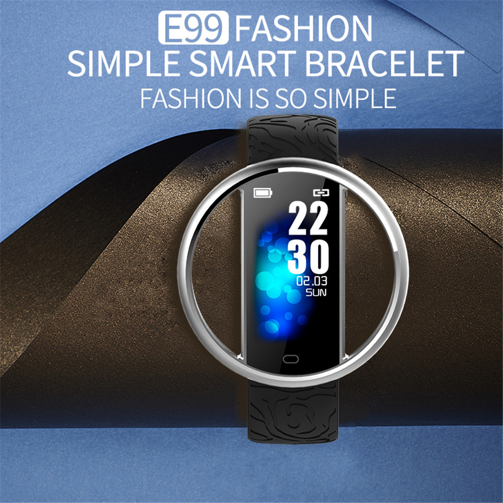 E99 Smart Women Watch Fashion Smart Bracelet Heart Rate Blood Pressure Monitor Waterproof IP67 Smartwatch for Xiaomi Mi Band 4 3 in Smart Watches from Consumer Electronics