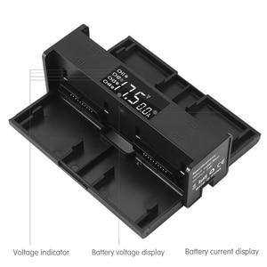 Image 4 - 4 in 1 Mavic 2 Battery Charging Hub for DJI Mavic 2 Pro Charger Mavic 2 Zoom Adapter Drone Digital LED Display Charge Port