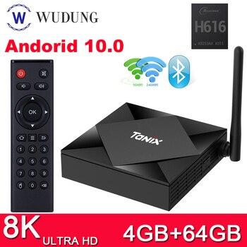 Tanix TX6S TV Box Allwinner H616 Android 10.0 2.4&5.8G Dual WiFi Bluetooth 4G 64G Smart Media Player Youtube HD Set top Box