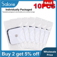 4*4/5*5cm Healthy Pad Electrodos Electrode Massage Pads for Digital Tens Acupuncture Device Body Massager Therapy Machine