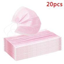 20 pces envio para os eua mascarilla mascaras cara boca protetor facial protectora para uso diario y trabajo