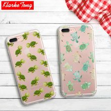 Transparent Silicone Cute Cartoon Animal Pattern Case For