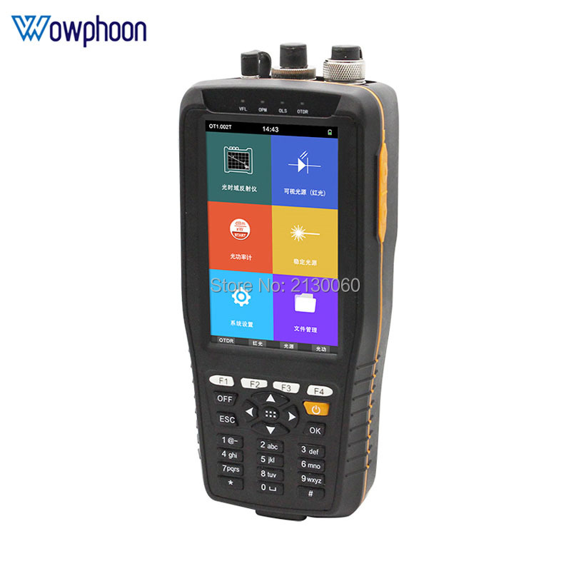 Free Shipping By DHL TM290 Smart OTDR 1310 1550nm With VFL/Smart OTDR With Touch Screen Optical Time Domain Reflectometer