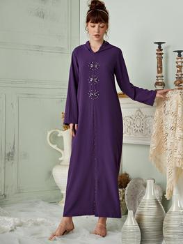 Abaya-Moda musulmana Abayas para damas, Kimono estilo Dubai, caftán islámico, Hijab, caftán marroquí, Túnica árabe
