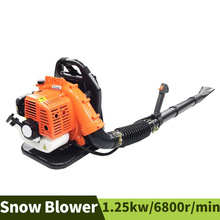 Leaf Blower Garden Two-Strokes-Backpack Site Dust-Removal Gasoline Fire-Extinguisher
