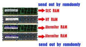 Image 5 - Atermiter X79 X79G האם LGA2011 מיני ATX שילובי E5 2689 מעבד 4pcs x 8GB = 32GB DDR3 זיכרון RAM 1600Mhz PC3 12800R