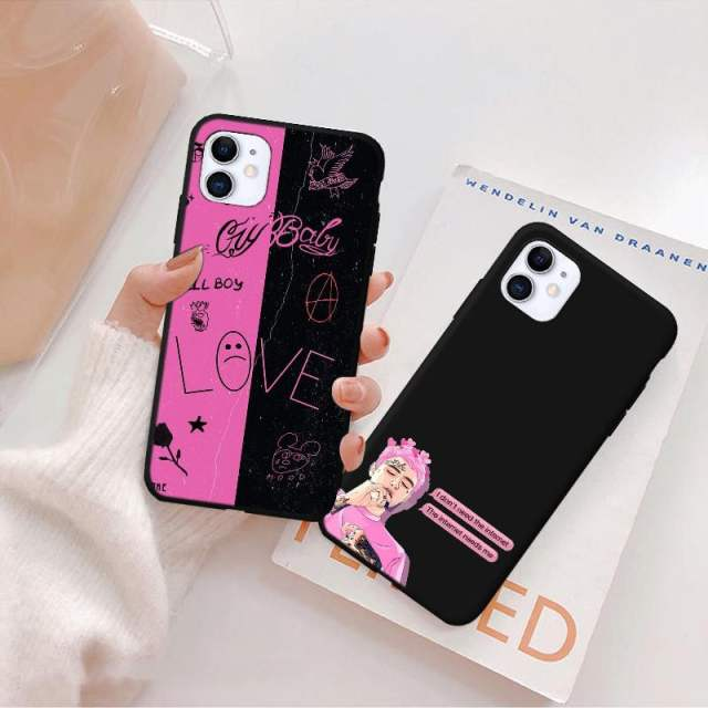 LIL PEEP THEMED IPHONE CASE (22 VARIAN)