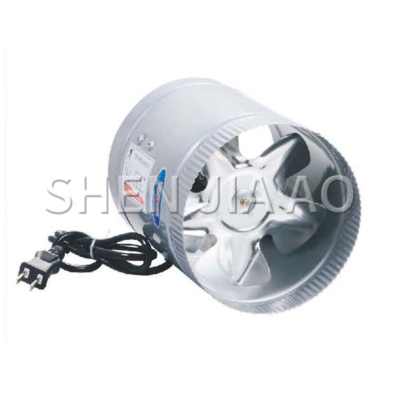 ZTF Series Straight Pipe Ventilator Fan Stainless Steel Exhaust Ventilator Low Noise Energy Stainless Steel Exhaust Fan Machine