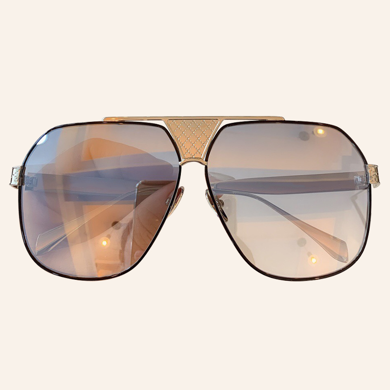 Oversize Men Sunglasses Brand Designer Square Sun Glasses UV400