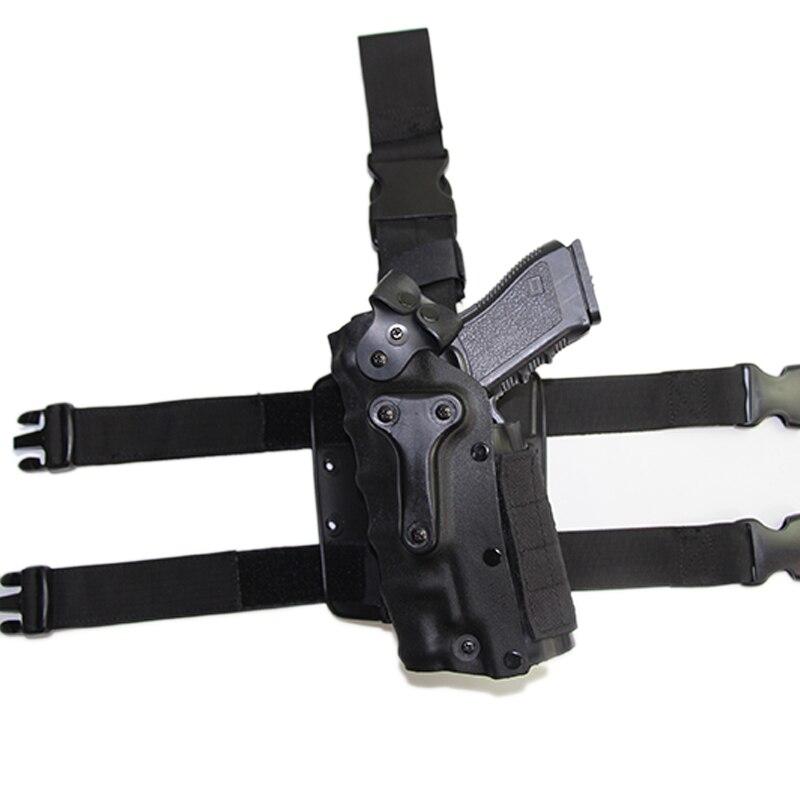 Coldre para arma, esquerda ou direita, para glock 17 19 beretta colt sig p226 usp universal, ajuste de coldre com luzes táticas
